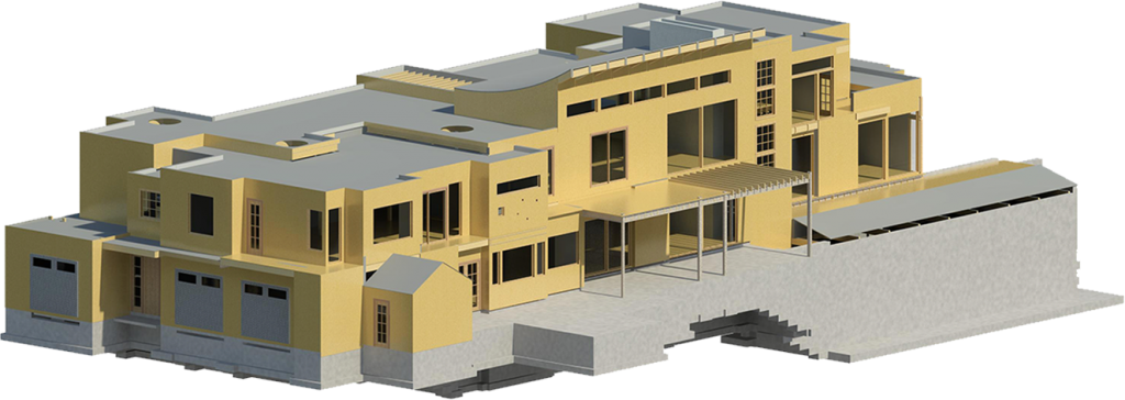 3d building rendering- e2 Engineers