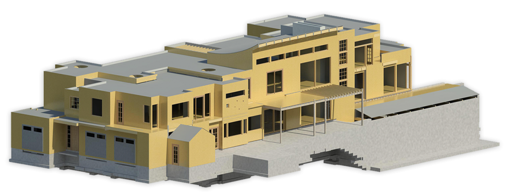 3d building rendering done by e2 ENGINEERS