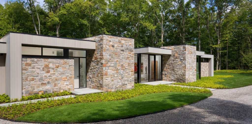 Art 2.0 House Exterior - Pound Ridge NY