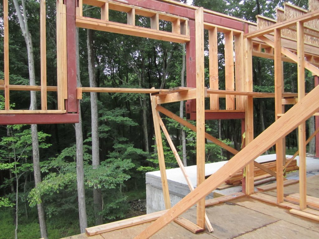 Art 2.0 House Wood Frame Structure