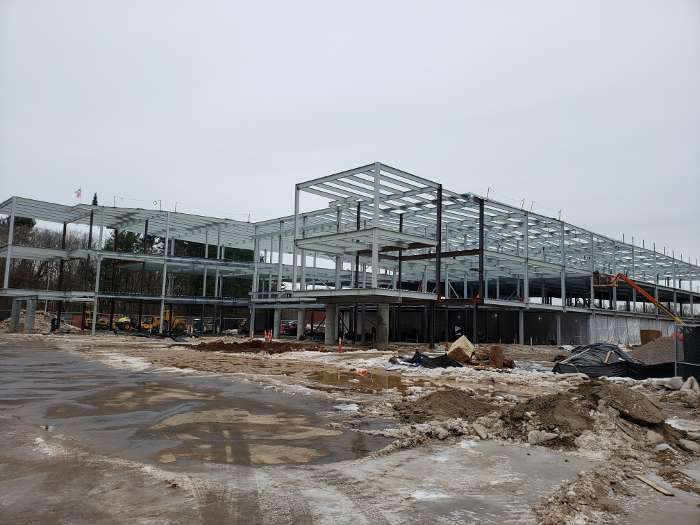 FWIS Steel Framework Construction