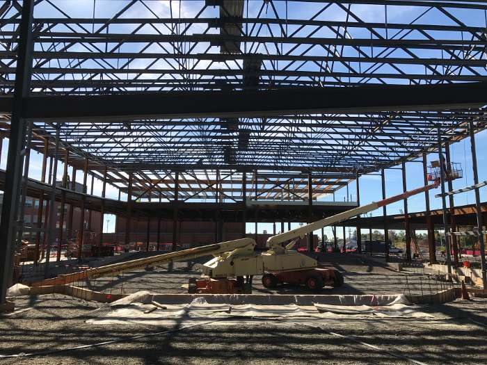 WHHS Steel Frame Structure
