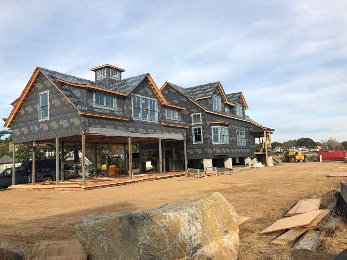 Boren Residence Coastal Construction